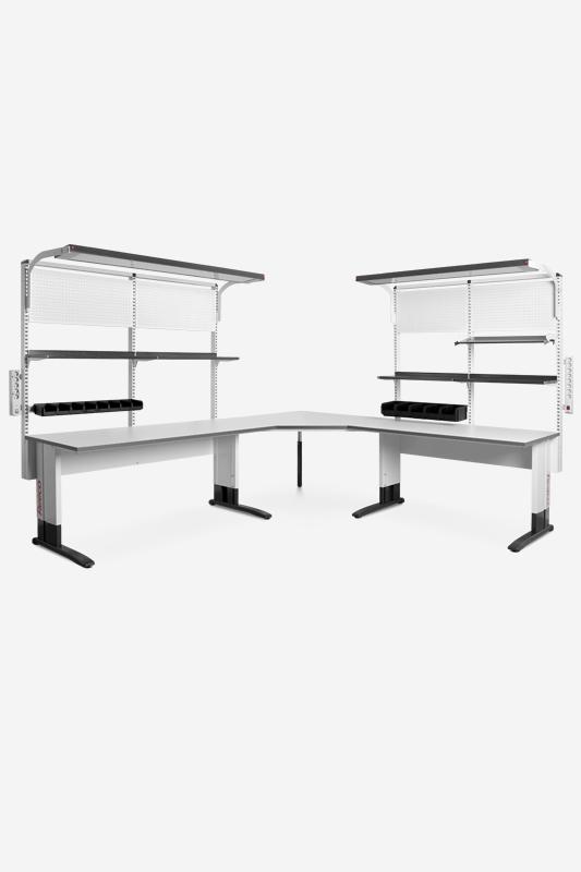 Stół przemysłowy REECO classic dostawka