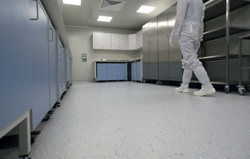 Proper EPA zone equipment – anti-electrostatic flooring