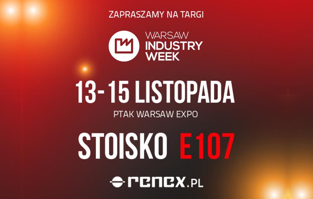 Zapowiedź Targów Warsaw Industry Week 2019