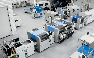 Małoseryjna produkcja pakietów elektronicznych – wyposażenie