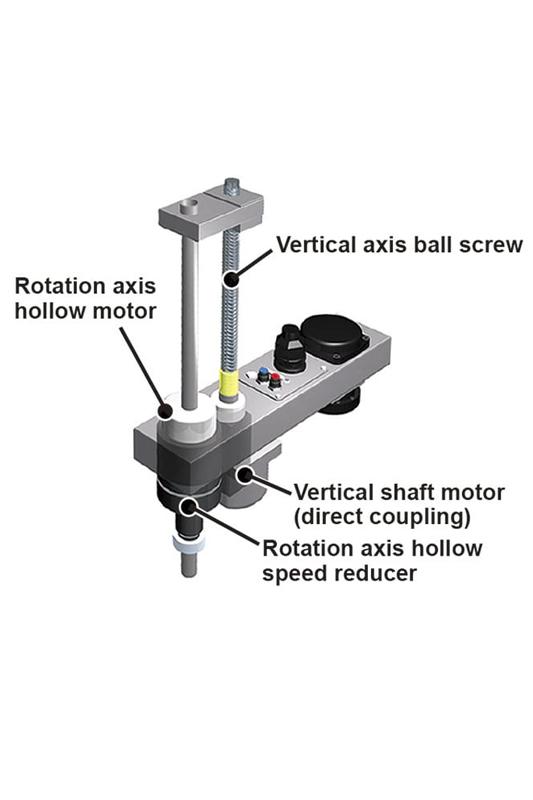 Konstrukcja bezpaskowa robotów scara