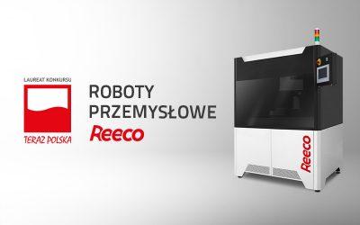 REECO robots granted the TERAZ POLSKA award
