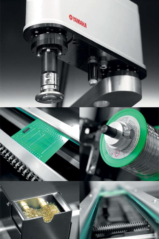 Production robot parts