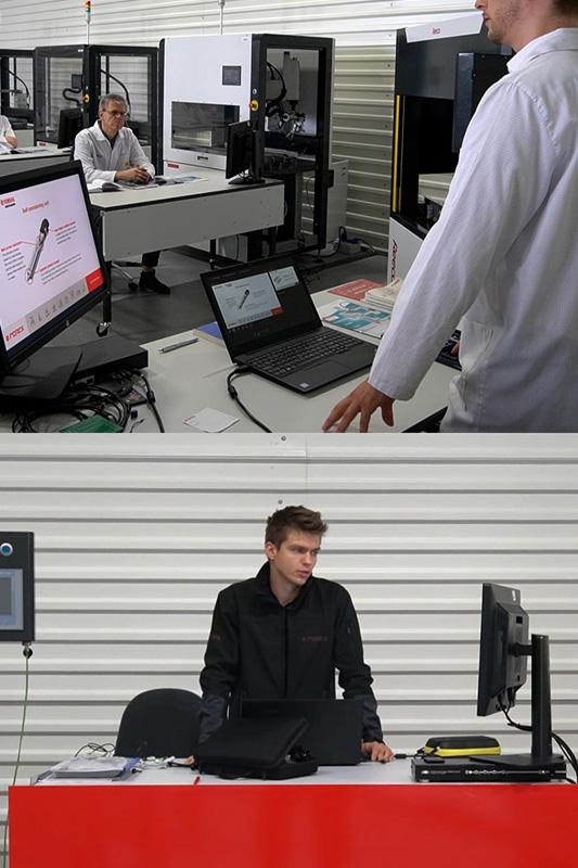 Szkolenie z robotów Yamaha