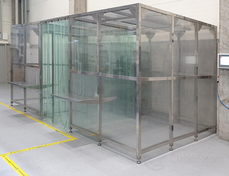 Mobilny Cleanroom