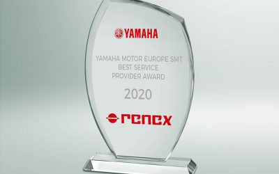 RENEX Group awarded the YAMAHA Best Service Provider Award