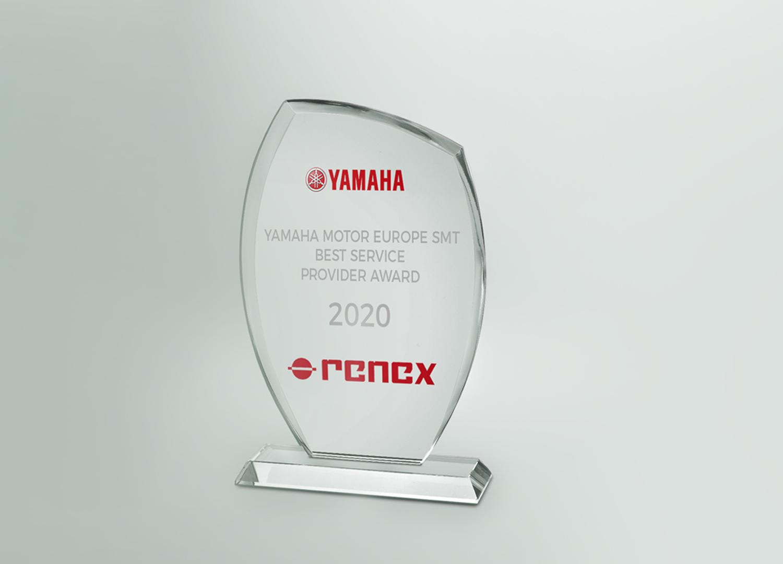 Nagroda za najlepszy serwis YAMAHA w Europie