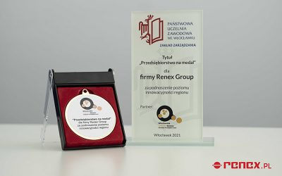 """RENEX Group was awarded in """"Medal Company"""" plebiscite"""