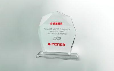 RENEX Group with YAMAHA Most Valuable Distributor Award