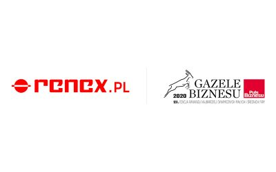 RENEX awarded with the title of Gazela Biznesu for the second time