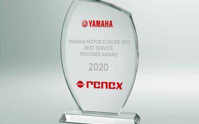 RENEX Group awarded the YAMAHA Best Service Provider Award
