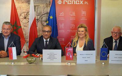 Grupa RENEX nawiązuje współpracę z Ambasadą Królestwa Maroka