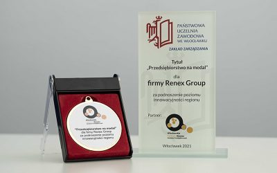 "Award for RENEX Group in ""Medal Company"" plebiscite"