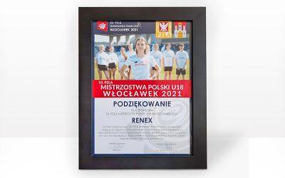 RENEX Group – Main Sponsor of Polish U18 Athletics Championships